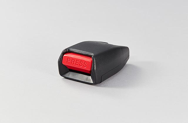 シートベルトプレスボタン